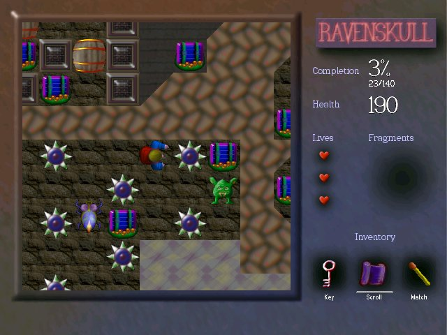 Ravenskull: the magical quest, full of puzzles and mystery. Two huge adventures.