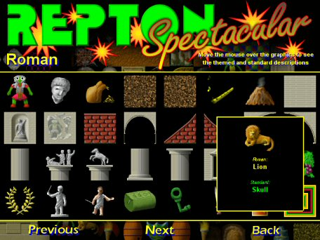 Repton Spectacular Screen Picture 1